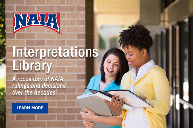 NAIA Interpretations Library